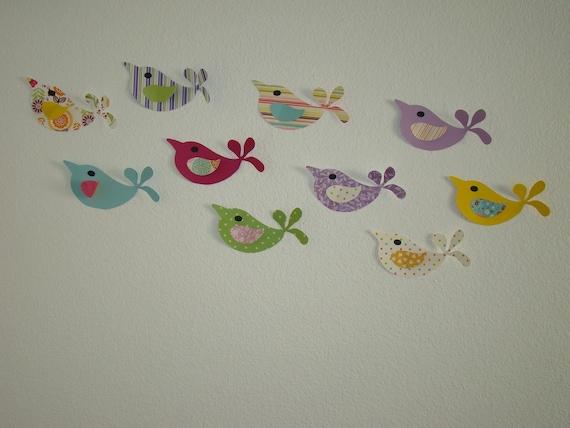 3d Wall Decor Birds : D wall art decor pretty birds adhesive included