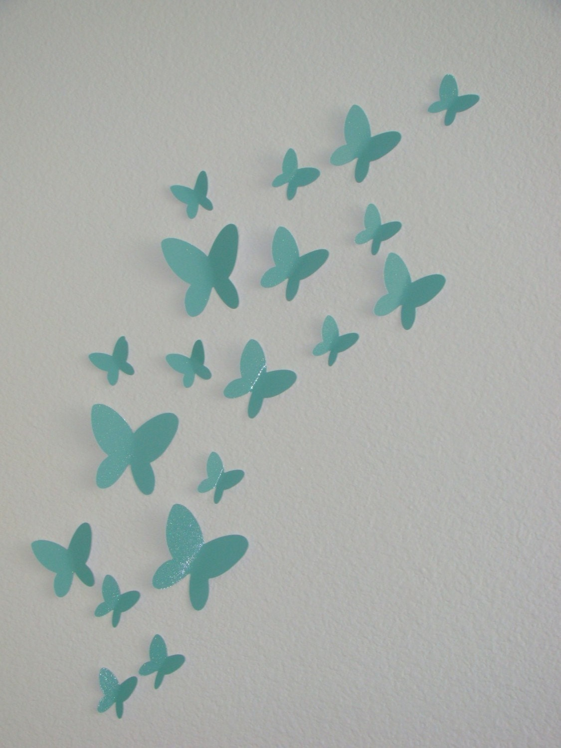 Unavailable listing on etsy for 3d wall butterfly decoration