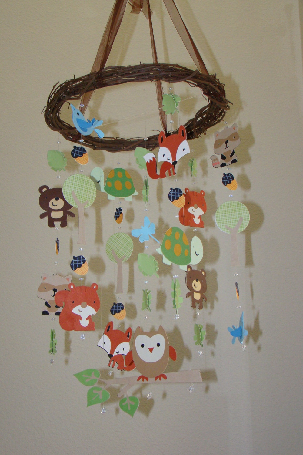 Carters Tree Top Friends Woodland Creature Forest Animal Baby