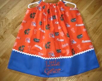 Florida Gator Pillowcase Dress