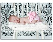Newborn Diaper Cover- Light Pink