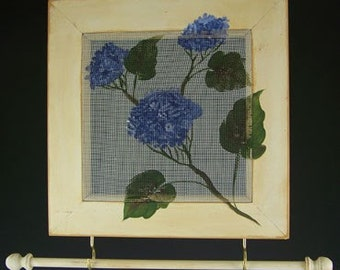 Hydrangea - 10x10 Earring and Jewelry Holder