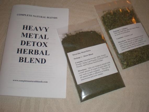 Best Natural Metal Detox