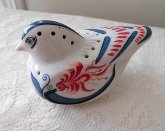 Vintage Elizabeth Arden Porcelain Pomander Bird Figurine By Royal Pavilion at Brighton, Made In Japan - Collectable - Scent Holder Decor