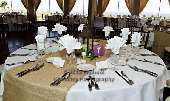 wedding burlap table runners by ldelaat on etsy wedding burlap table runners
