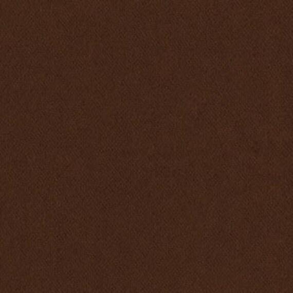 Solid Brown Flannel, 1 Yard