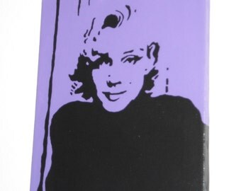 11 inch x 14 inch Marilyn Monroe Painting