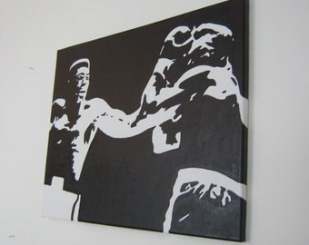 16 inch by 20 inch Muhammad Ali painting