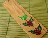 Mexican Coffee Wood Bookmark