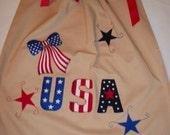 Patriotic Pillowcase Dress