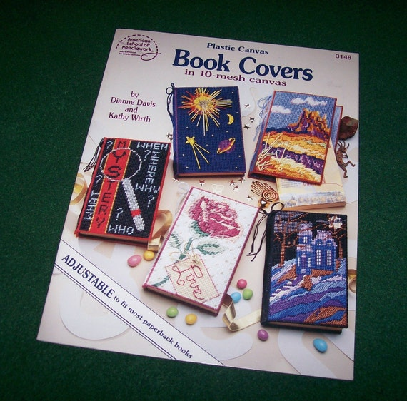 Plastic Canvas Book Covers Patterns For Paperbacks