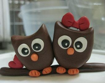 Love Owls Cake topper