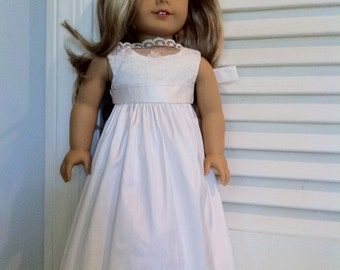 Matching Doll Dress - Silk and Lace MBD001