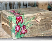 Hand Painted Passion Box great for wedding Gift.