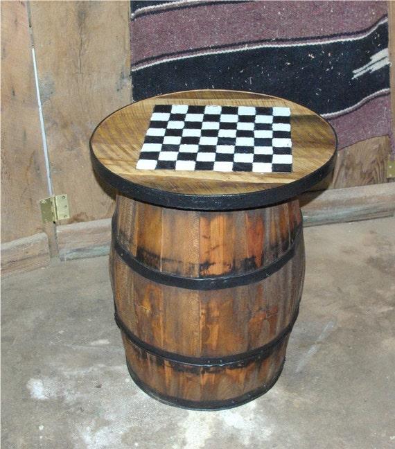 Checker board barrel