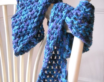Light and Lacy Crochet Scarf
