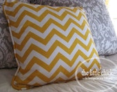 Custom Decorative Pillows with Piping - Design Your Own