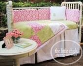 Custom Tailored Crib Skirt - Design Your Own