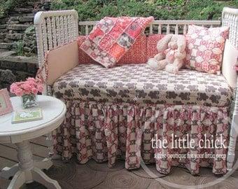 Custom Gathered Crib Skirt - Design Your Own