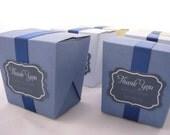 DIY Wedding Favor - Mini Noodle Box Template