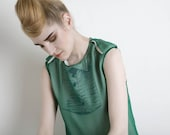 IRIS Blouse Green