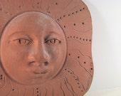 Terracotta Clay Sun