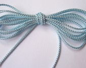 Pastel Blue and Silver Cord