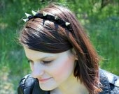 Lady Liberty Spiked Headband  (spaced spikes)