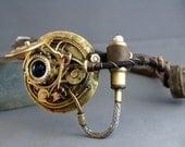 Steampunk Gilded Mechanical Eye Patch