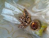 Christmas Angel Victorian Christmas Clothespin Ornament