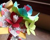 Nosegay ( mini bouquet ) With Romantic Lace