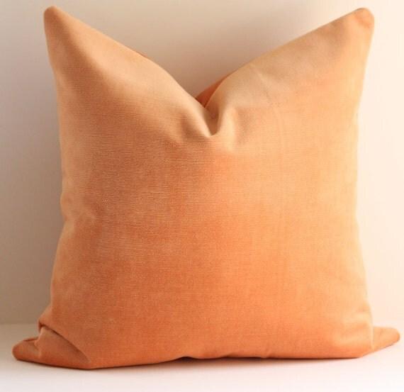 Velvet Pillow Cover / 18x18
