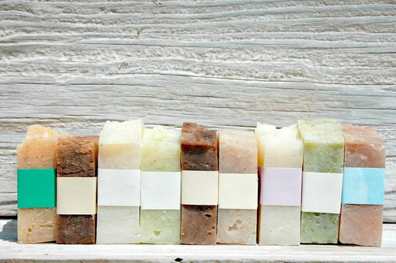 EIGHT Handmade Natural Soaps (Shipping Included)