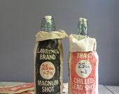 four vintage ammo canvas bags