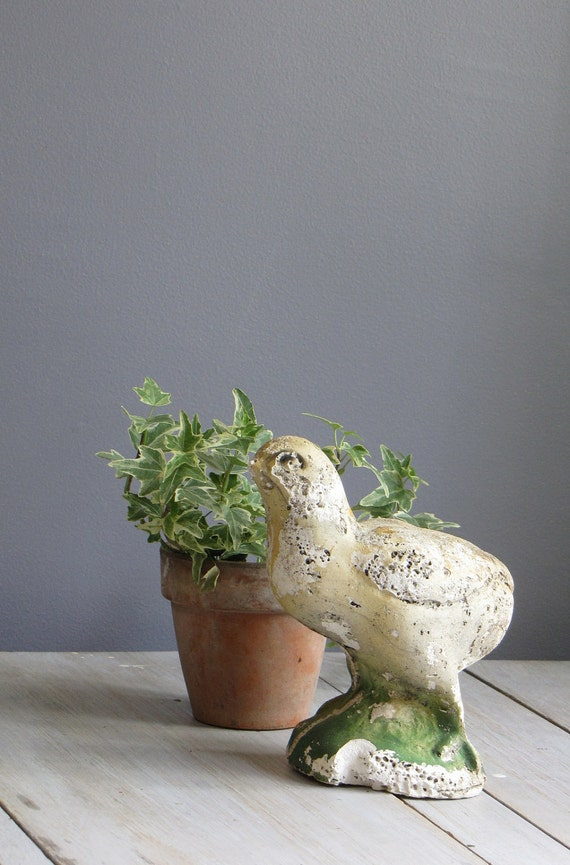 vintage distressed bird