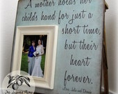 Mother of the Bride Gift, A Mother Holds A Child's Hand, 16x16 The Sugared Plums