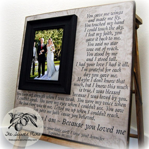 Weddings Gifts For Parents: Wedding Gifts For Parents Parent Wedding Gift Personalized