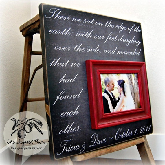 Wedding Gift, Personalized Wedding Gift, Unique Wedding Gift, Wedding Gift Ideas, Wedding Gifts For Couples, 16x16 Then We Sat