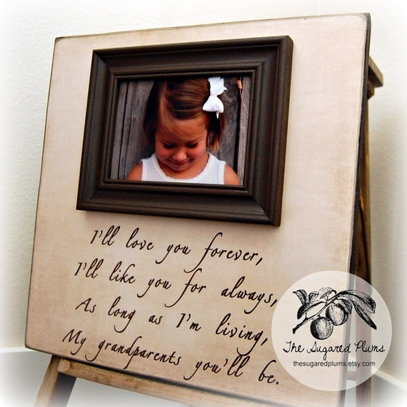 grandma grandparent gifts mothers day fathers day personalized picture frame grandmother