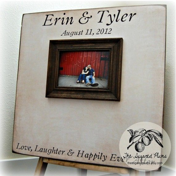 Guest Book Wedding Personalized Picture Frame 20X20 Customizable 100 to 150 Guests Alternative Wedding Decoration Graduation Baby Shower