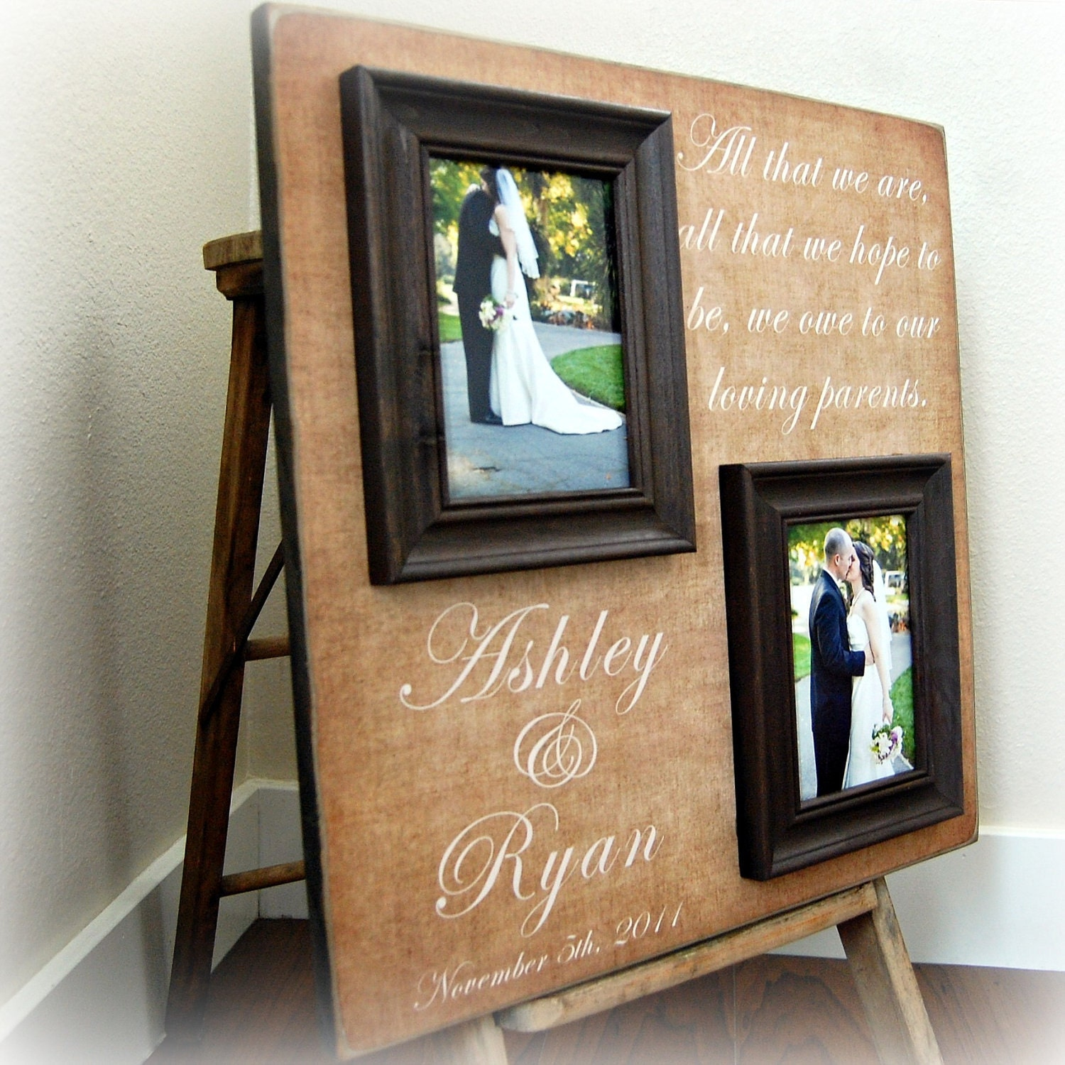 Wedding Gift Picture: Personalized Picture Frame Wedding Gift Custom 20x20 All THAT