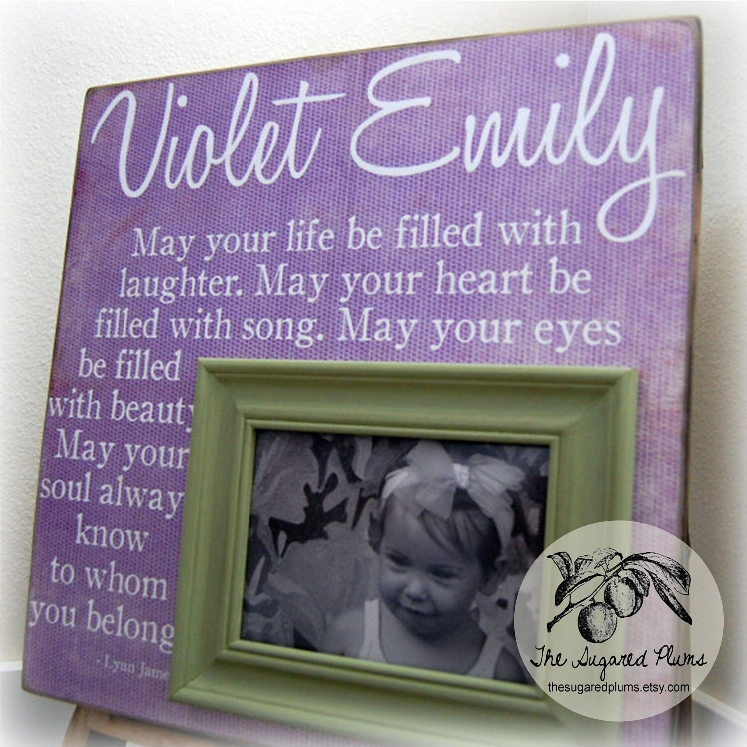 Christening Gift For Christening Baby Personalized Picture