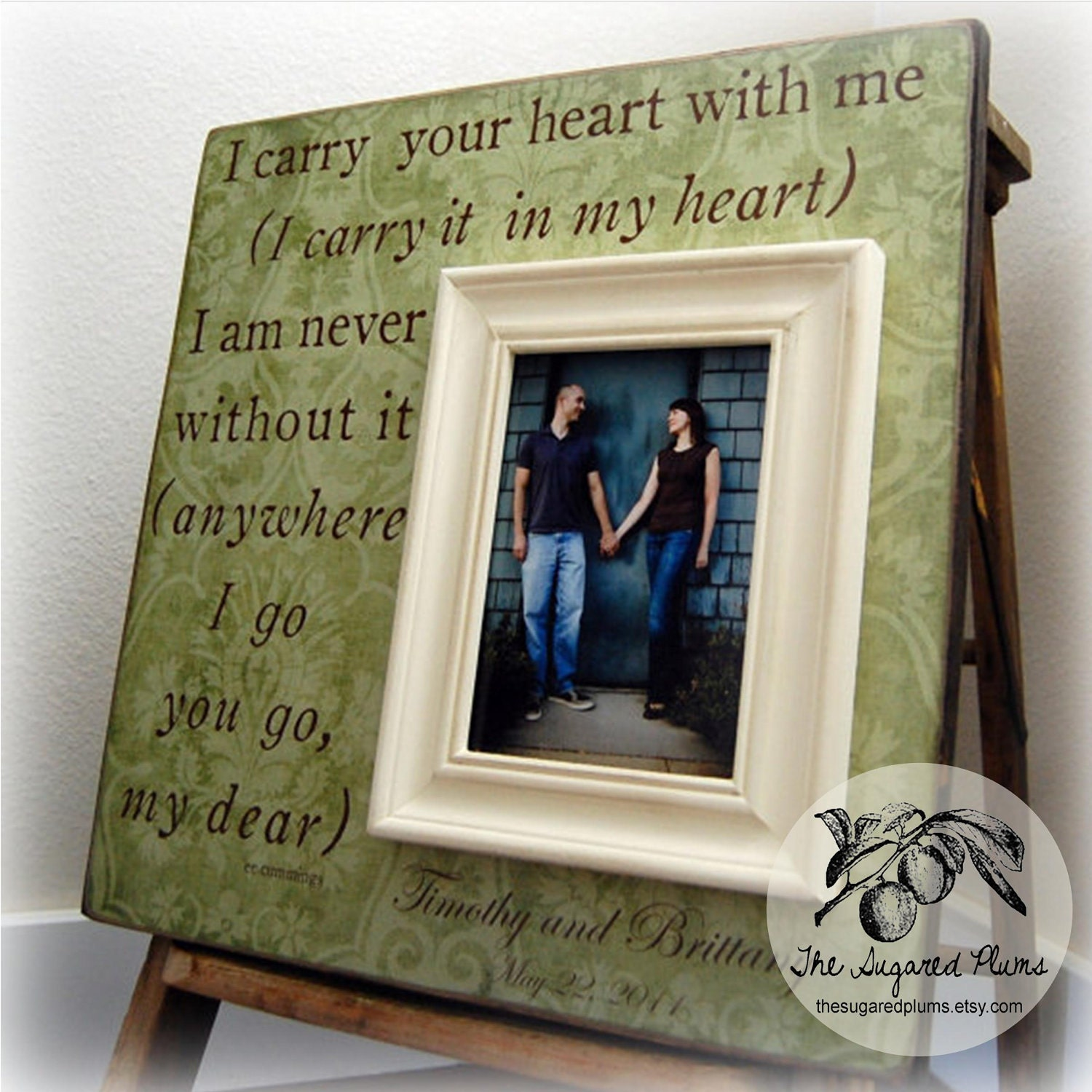 Framed I Carry Your Heart Quotes