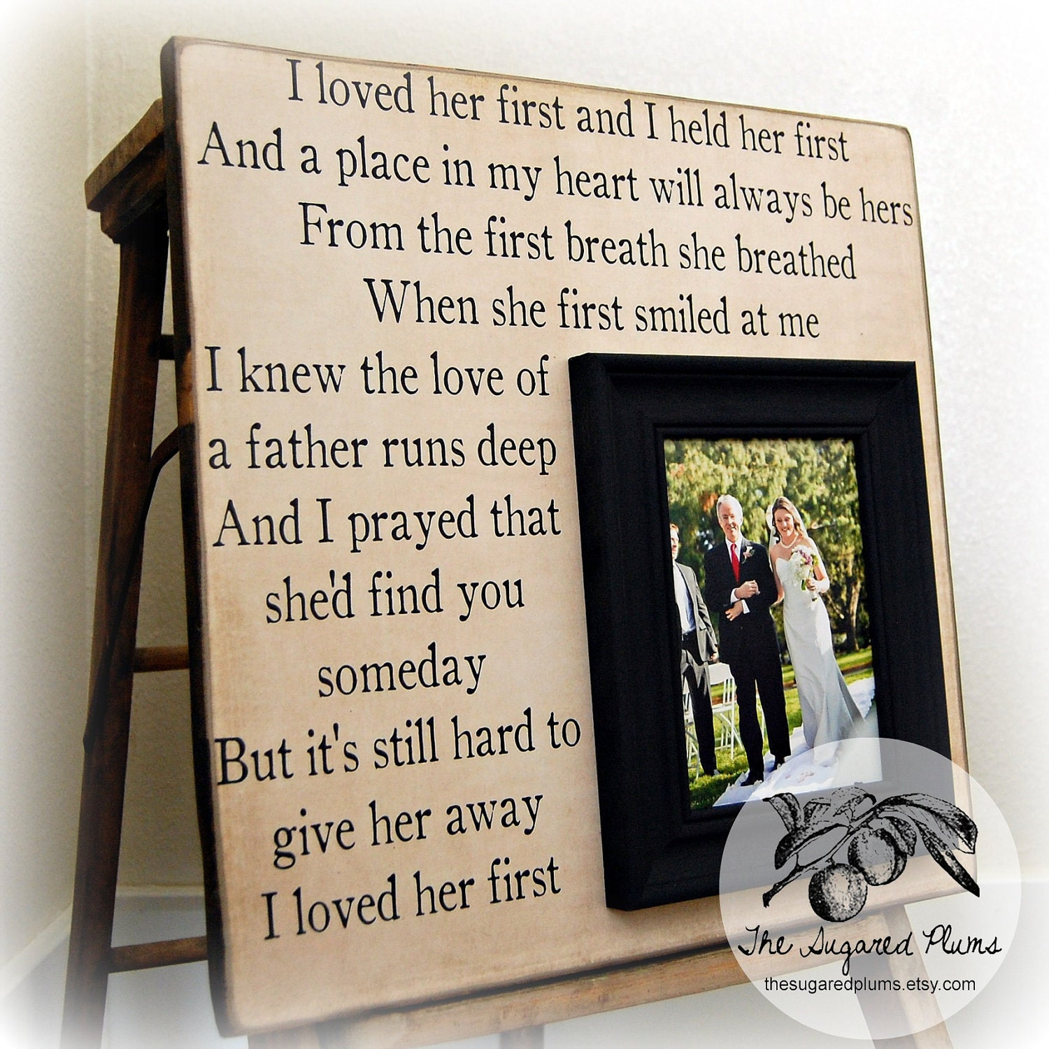 Wedding Keepsake Gifts For The Bride : Wedding Gift For Parents Mother of the bride Thank you