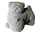 ONE Zen Mini Lucky Foo PUG Dog Bonsai Terrarium Sculpture