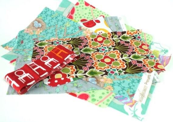 Destash Randomly Chosen Designer Fabric Bundles Amy Butler Ann Kelle Moda