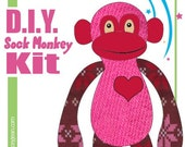 Sock Monkey D.I.Y. Kit  No. 511 - Medium - 14-16 inches