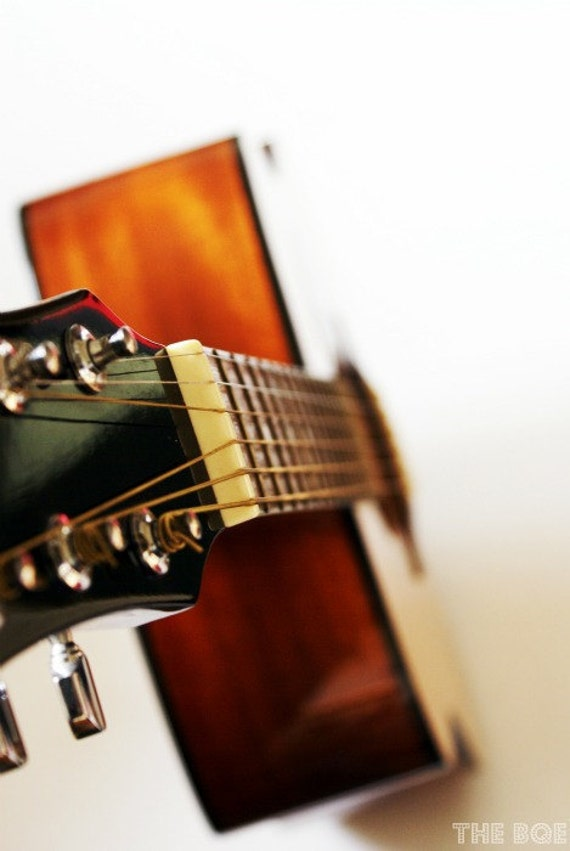 Acoustic Guitar Photography, Let's Play 8x12 Photo Print, Musical Instruments, Music Decor