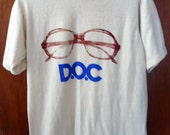Vintage D.O.C. eyeglass T shirt one of a kind look