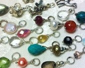 Interchangeable Gemstone or Charm for Your Hoops or Necklace